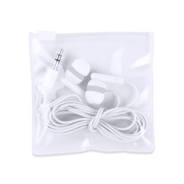 Earphones Celter - White