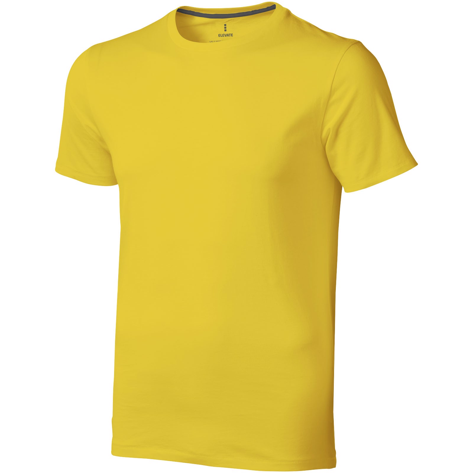 Nanaimo short sleeve men's t-shirt - Yellow / XS