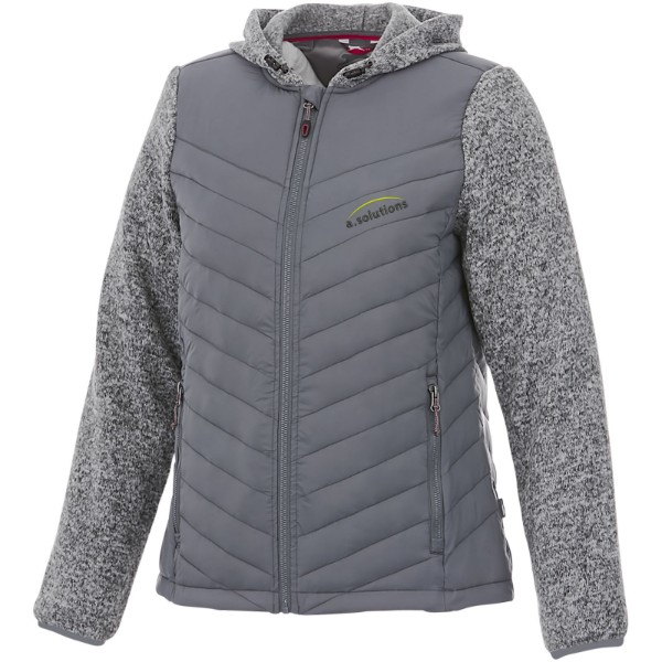 Hutch women's hybrid insulated jacket - Grey / XS