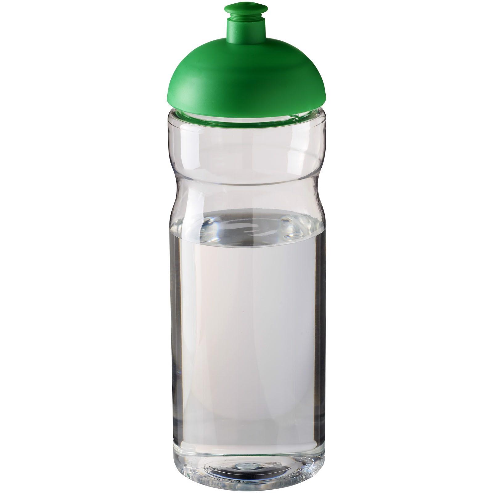 H2O Base® 650 ml dome lid sport bottle - Transparent / Green