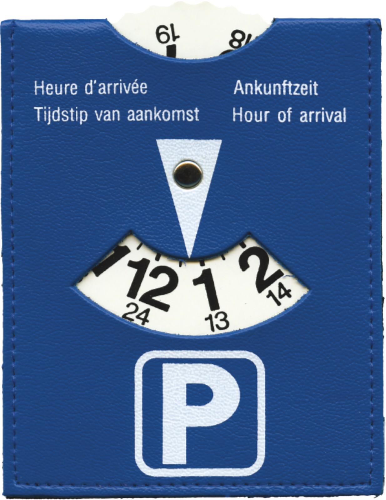 PVC parking disc