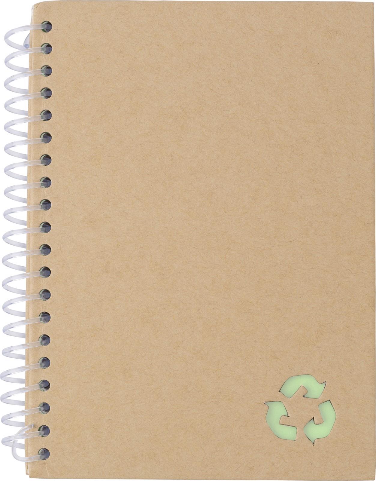 Cuaderno de papel de piedra - Light Green
