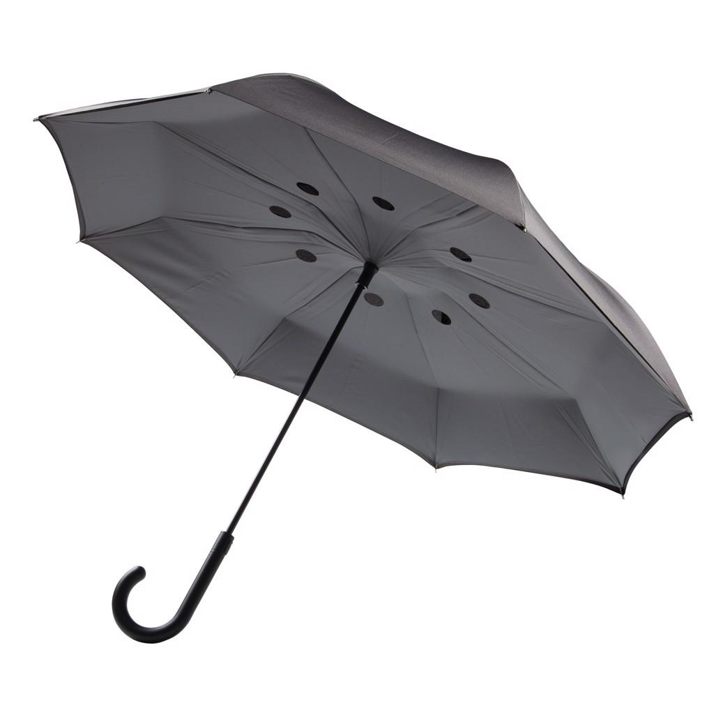 """23"""" automatický reverzní deštník"""