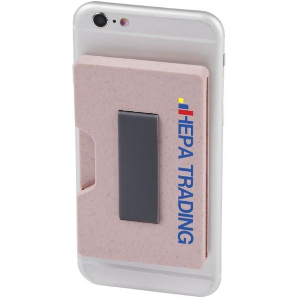 Grass RFID multi card holder - Pink