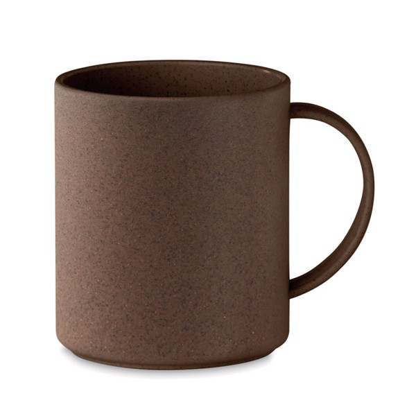 Mug in coffee husk/ PP 300ml Brazil Mug