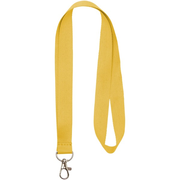Lanyard Impey s praktickým háčkem - Žlutá