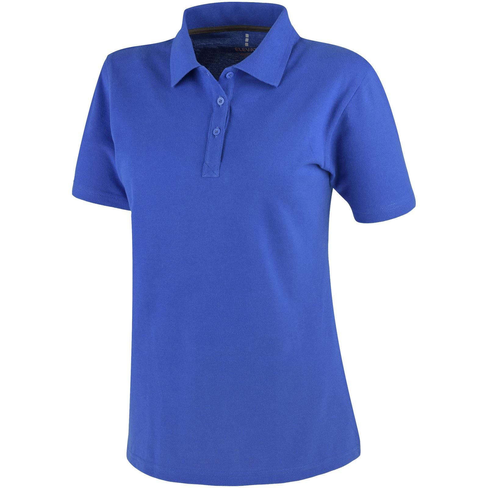 Primus short sleeve women's polo - Blue / XL