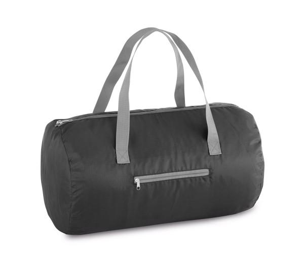 TORONTO. Skládací taška do tělocvičny - Černá