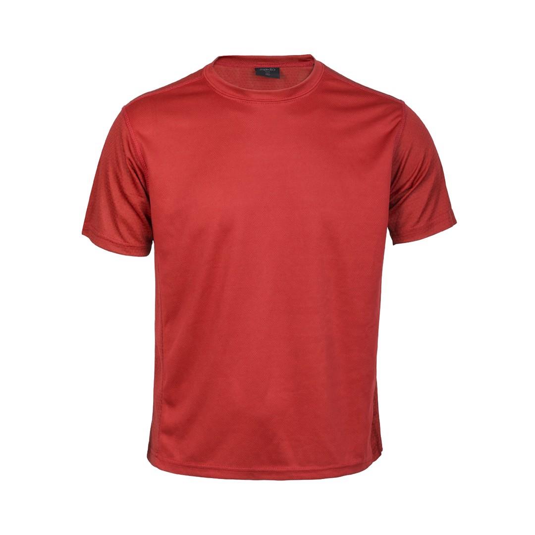 Camiseta Adulto Tecnic Rox - Rojo / S