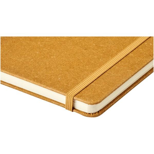 Atlana zápisník A5 s kousky kůže - Hnědý