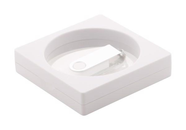 Víceúčelová Krabička Kibal - Bílá / Průhledná