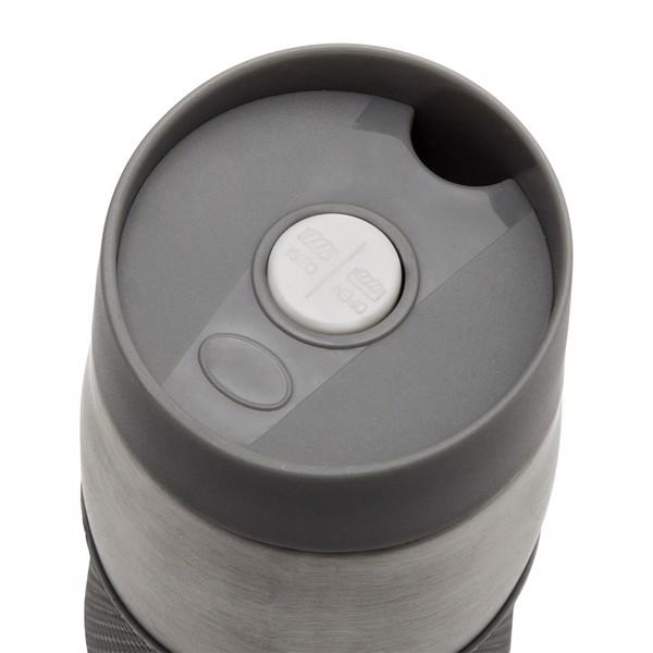 Kubek izotermiczny próżniowy Harbin 350 ml - Szary