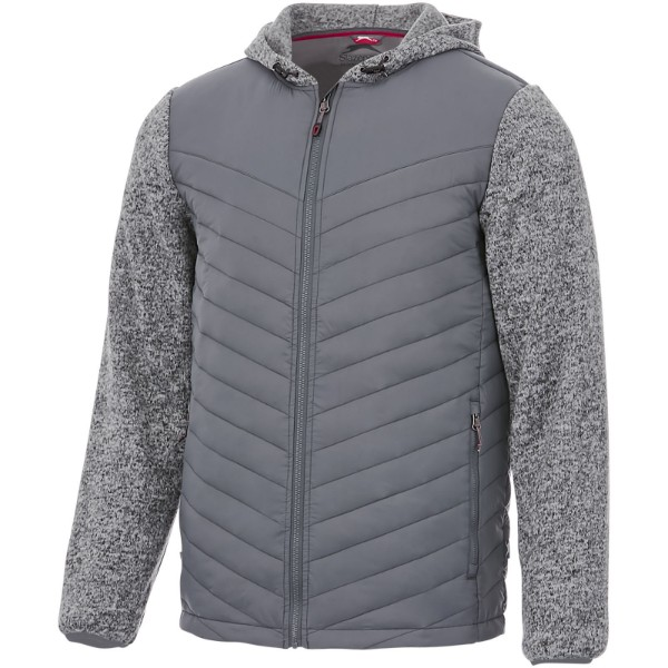 Hutch insulated hybrid jacket - Grey / S
