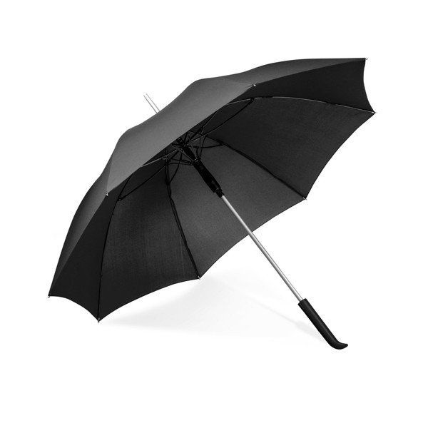 SESSIL. Deštník s automatickým otevíráním - Černá