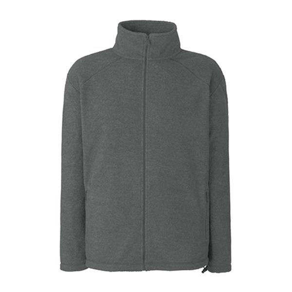 Full Zip Fleece - Cinza Escuro / XL
