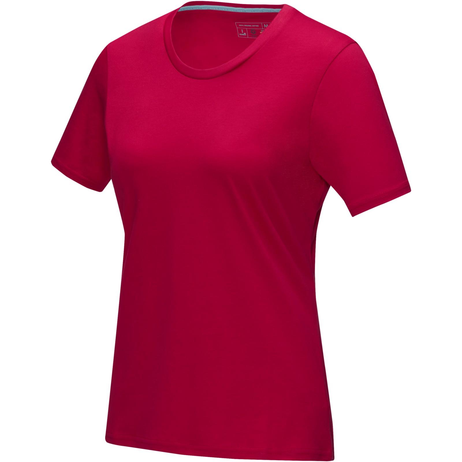 Azurite short sleeve women's GOTS organic t-shirt - Red / XS