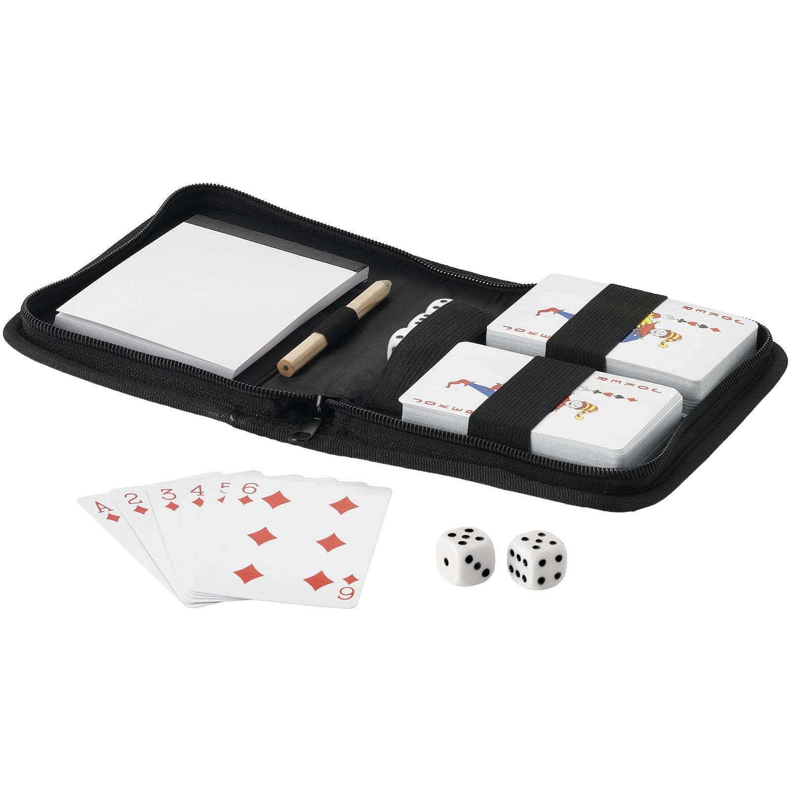 Dvoudílný set hracích karet Tronx se sáčkem