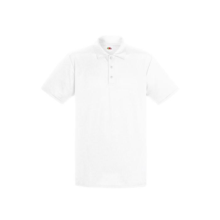 Funkční polo tričko Performance Polo 63-038-0 - White / S