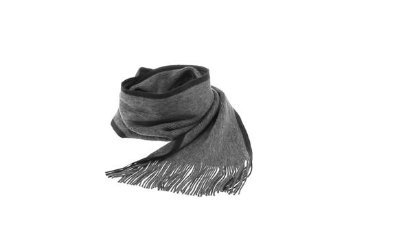 Bufanda Luomo - Gris / Negro