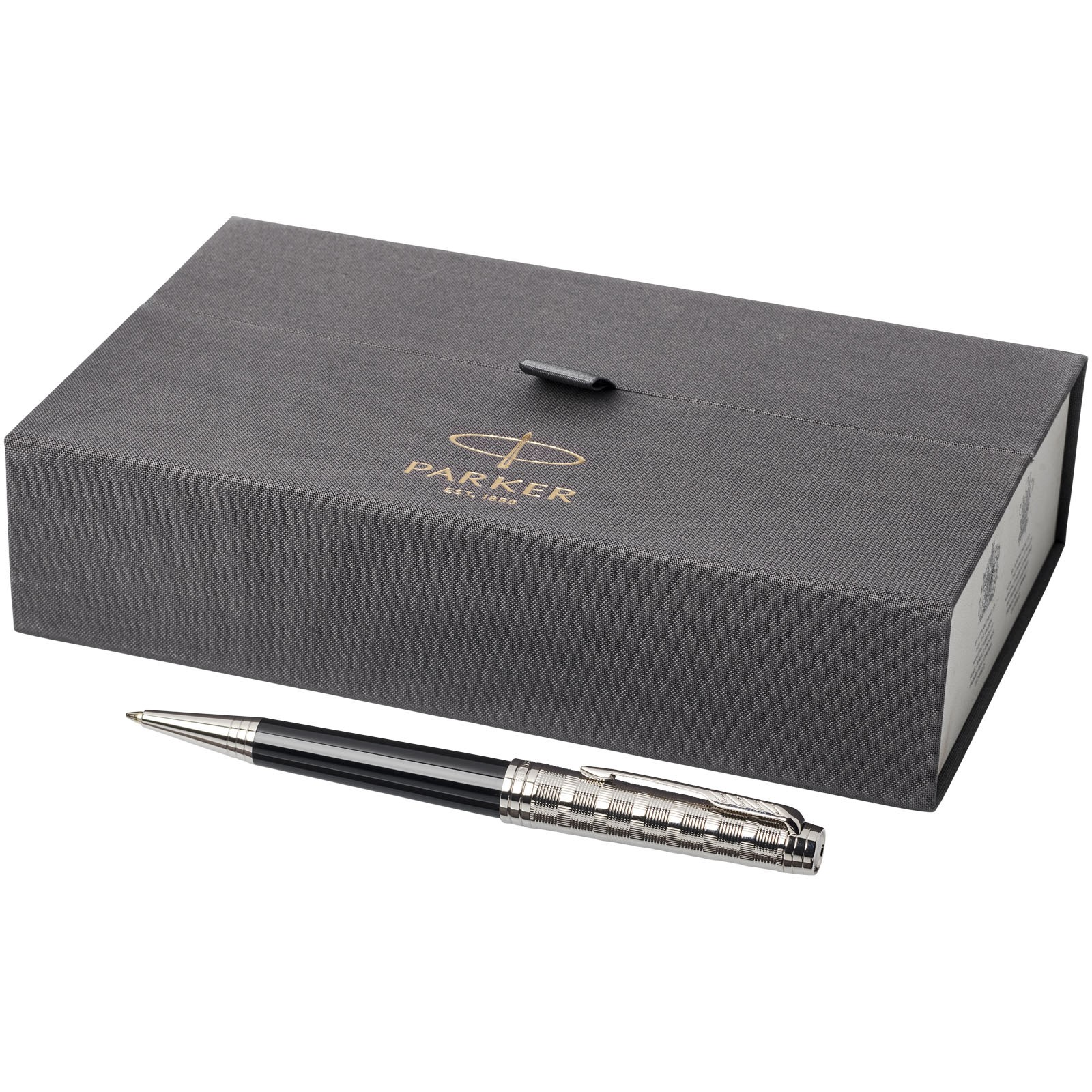 Premier Kugelschreiber - Schwarz / Silber