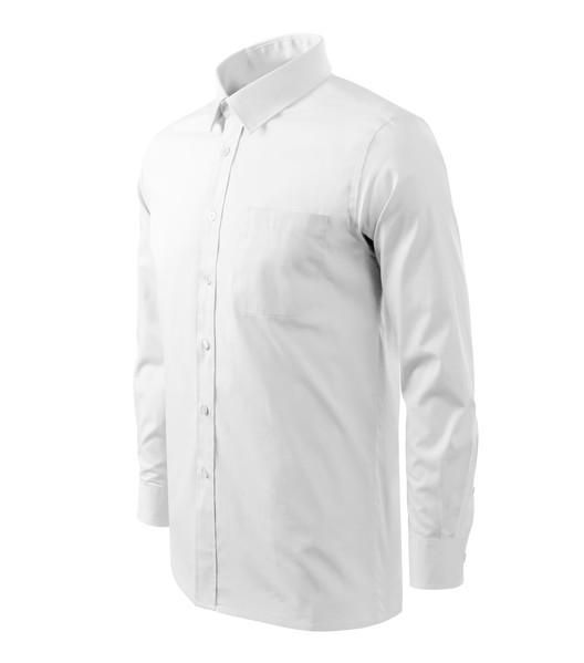 Košile pánská Malfini Style LS - Bílá / 2XL