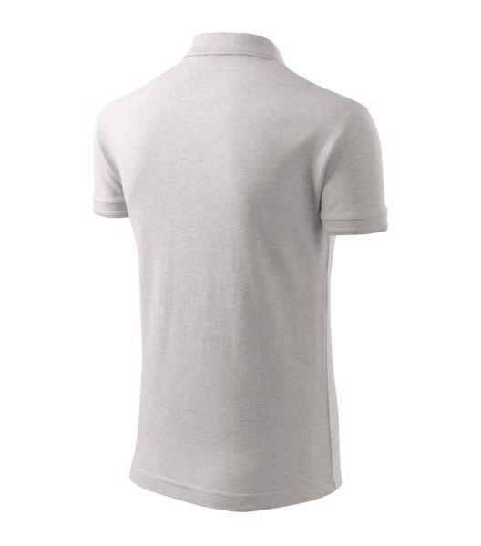 Polo Shirt men's Malfini Pique Polo - Ash Melange / M