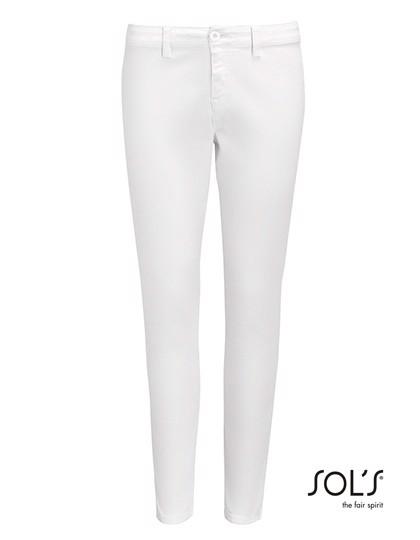 Women`S 7/8 Pants Jules - White / 46