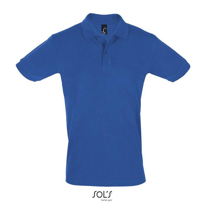 PERFECT POLO HOMBRE 180g Perfect Men - Azul Royal / XXL