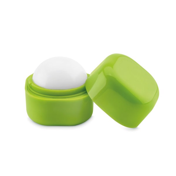 Lip balm in cube box Lips - Lime