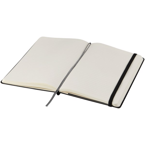 Classic XL soft cover notebook - ruled - Solid black