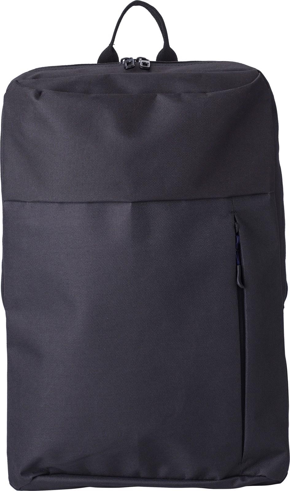 Polyester (600D) backpack - Black