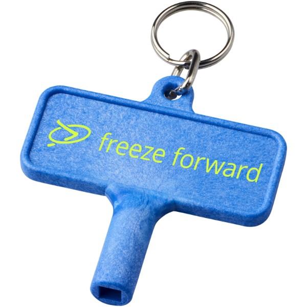 Klíčenkový plastový klíč na radiátory Largo - Modrá