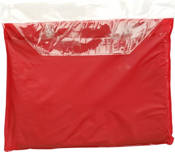 Universal-Freizeitponcho 'Dry' - Red