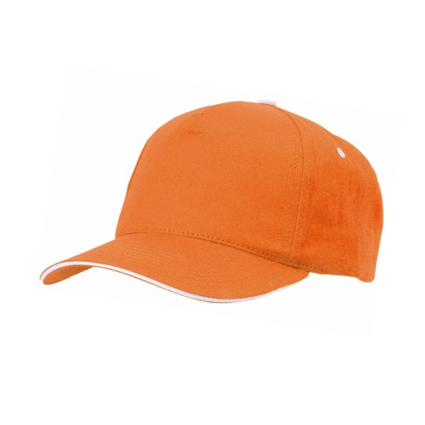 Gorra Five - Naranja