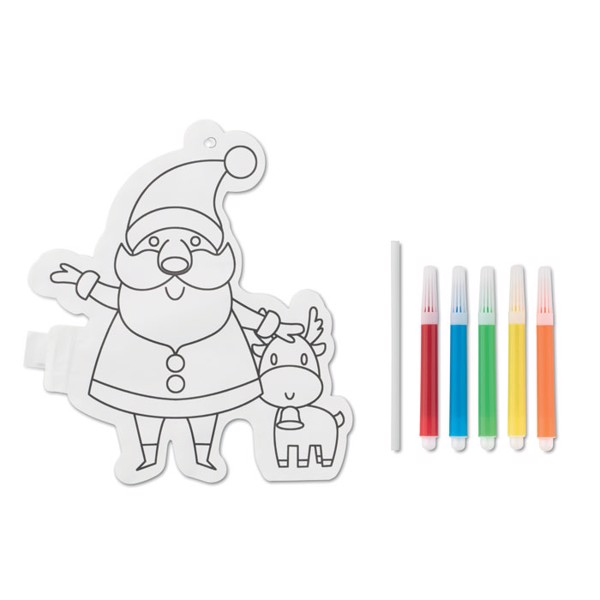 Santa Claus colouring balloon Santaball