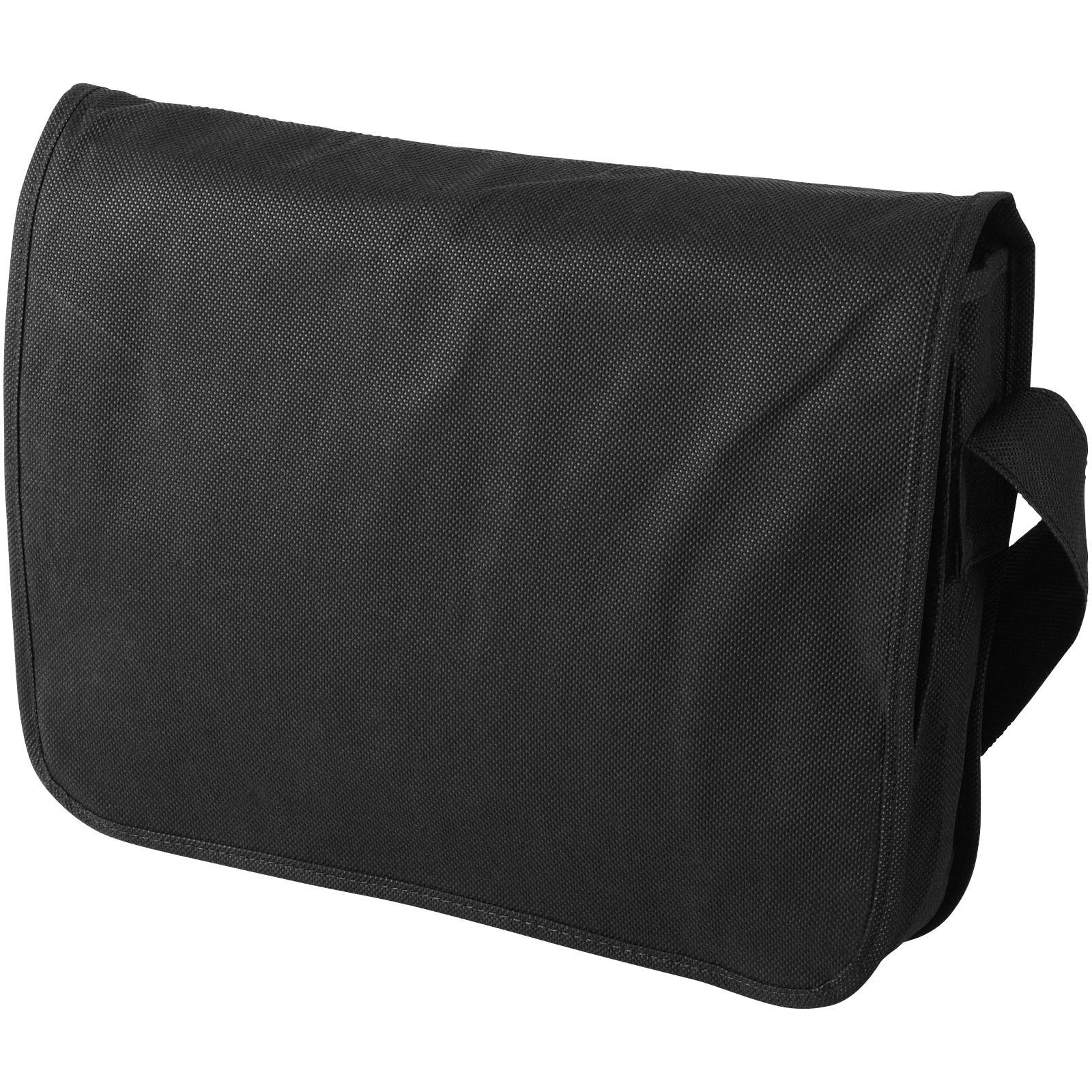 Netkaná taška přes rameno Mission - Černá