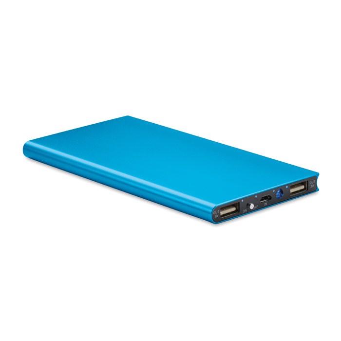 Power bank 8000 mAh Powerflat8 - Blue