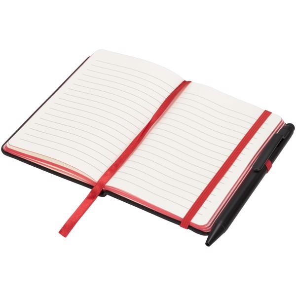 Zápisník Small noir edge - Černá / Červená s efektem námrazy