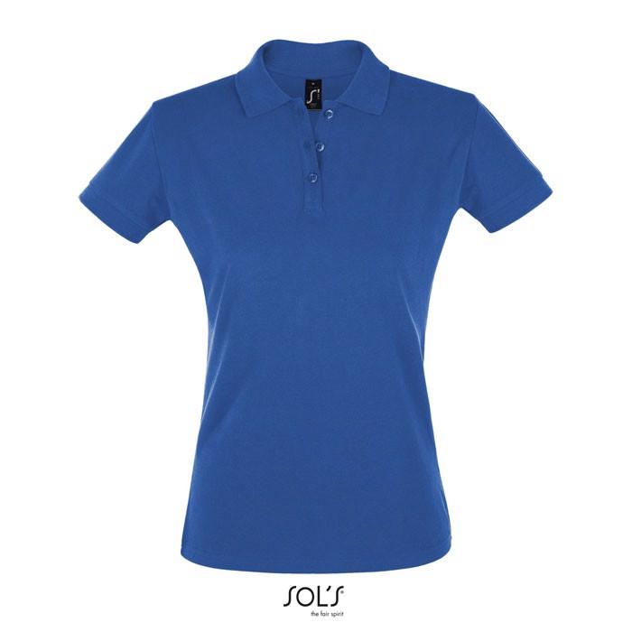 PERFECT POLO MUJER 180g Perfect Women - Azul Royal / XXL
