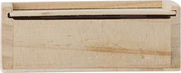 """Juego """"3 en raya"""", de madera"""