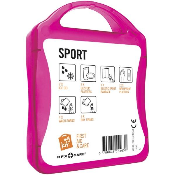 MyKit Sport first aid kit - Magenta