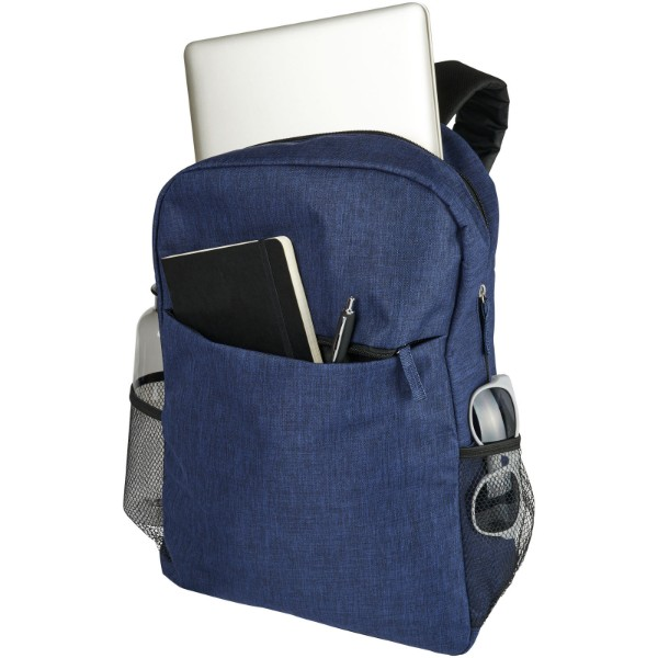 "Hoss 15"" laptop backpack - Heather navy"