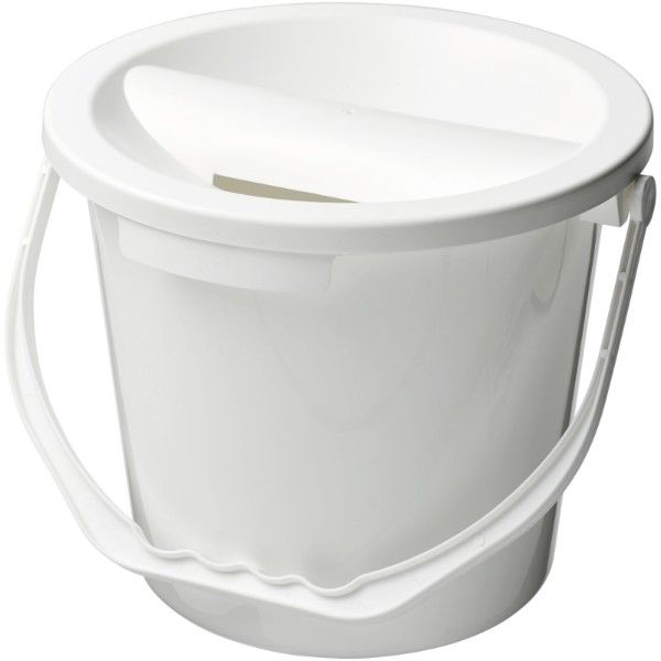 Udar charity collection bucket - White