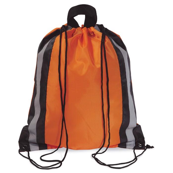 Worek - Torba odblaskowa Glitterbag - pomarańczowy