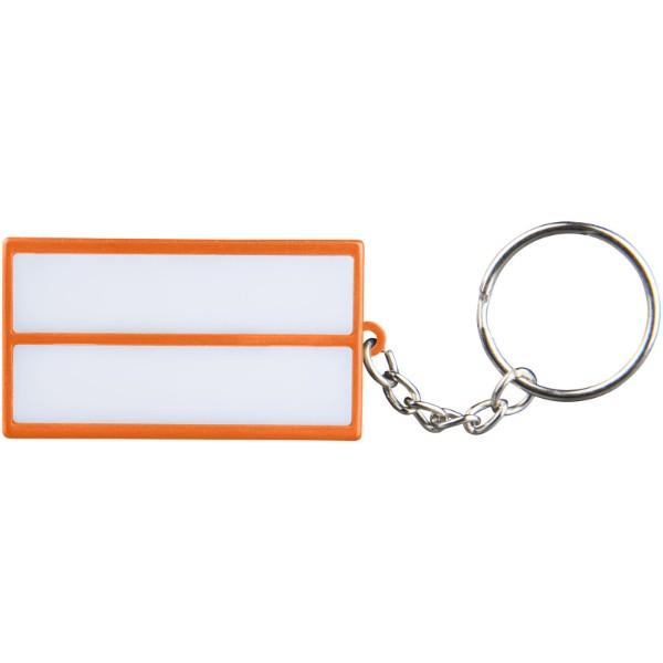 Cinema LED keychain light - Orange