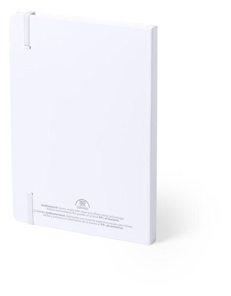 Bloc Notas Antibacteriano Tungol - Blanco
