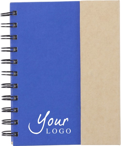 Coardboard notebook - Light Green