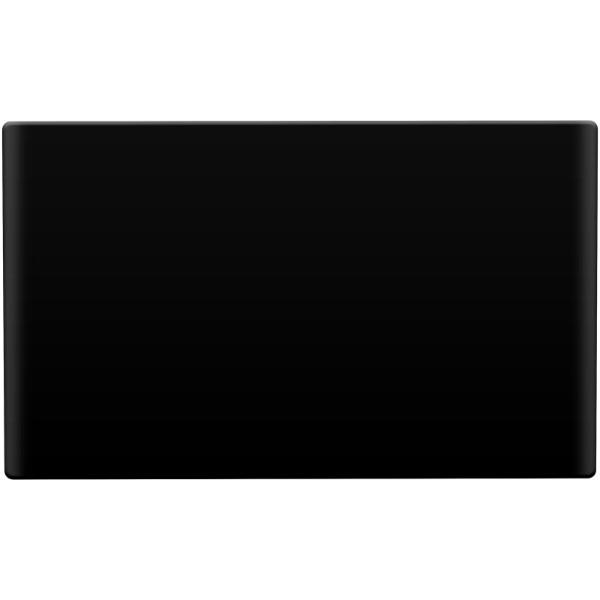 Poznámkový blok s vložkou Vessel a papírem na poznámky - Černá