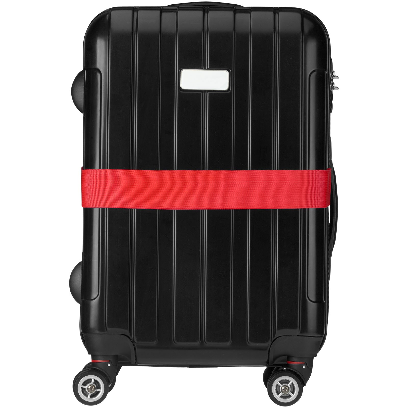 Popruh Saul na kufr - Červená s efektem námrazy