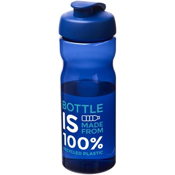 Sportovní láhev s vyklápěcím víčkem H2O Eco 650 ml - Modrá